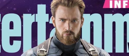 foto muestra los nuevos escudos dobles del Capitán América - latercera.com