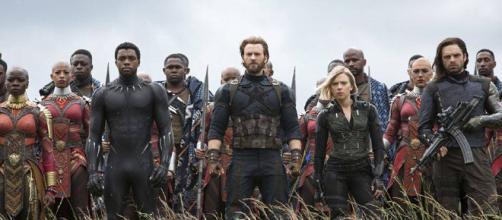 Héroes de Marvel previo al enfrentamiento contra Thanos