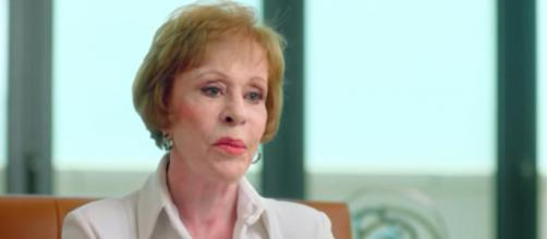 Carol Burnett is back on television with a new series. [Image source: Netflix - YouTube]