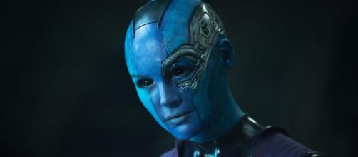 Nebula es una maquina asesina hecha por Thanos