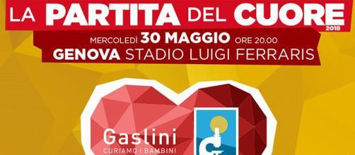 Partita del Cuore 2018 a Genova