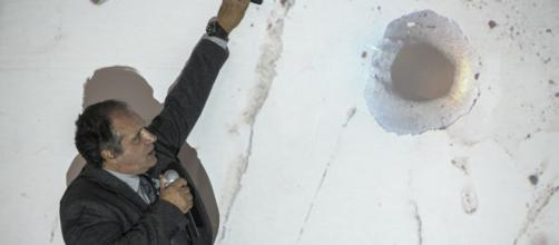 Peritos fizeram comprovação de tiros em ônibus de caravana lulista