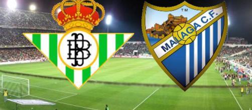 El Real Betis derrota al Málaga CF