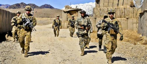 U.S. Army soldiers in Afghanistan's Paktya province (Image credit – Jason Epperson, Wikimedia Commons)