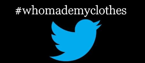 #whomademyclothes hashtag trends - image credit cco public domain | pixabay (modified)