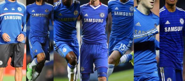Chelsea tiene grandes jugadores seguidos en todo el mundo