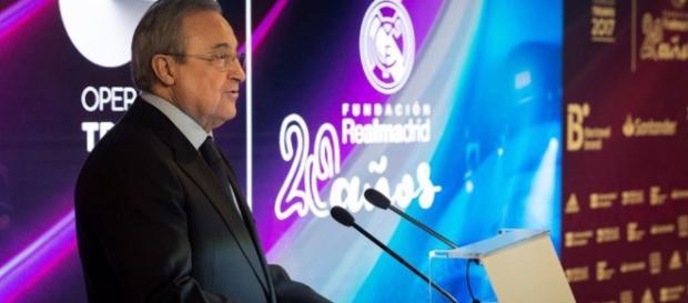 Florentino Pérez suelta la bomba. Y estalla en el Real Madrid