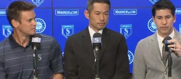 Ichiro Suzuki interview. - [Seattle Mariners / YouTube screencap]
