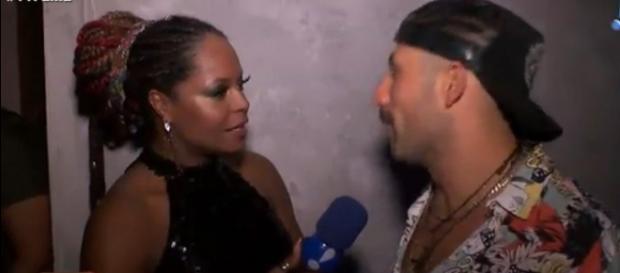 Kaysar concede entrevista ao 'TVFama'