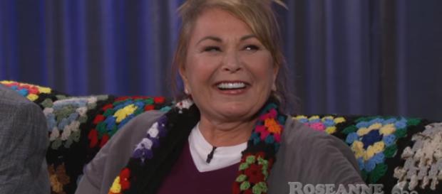 Rosanne Barr - Image Credit - Jimmy Kimmel Live   YouTube.