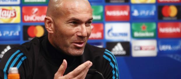 Zidane, técnico do Real Madrid