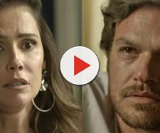 Beto Falcão descobre segredo de Karola em 'Segundo Sol'.