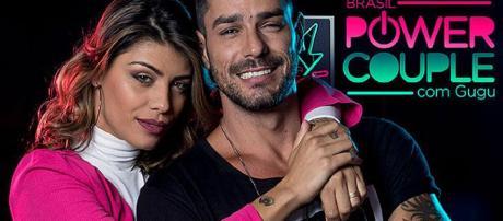 O casal Diego e Franciele foi afastado do Power Couple Brasil, RecoTV.
