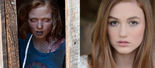 A evolução do elenco da série 'The Walking Dead'.