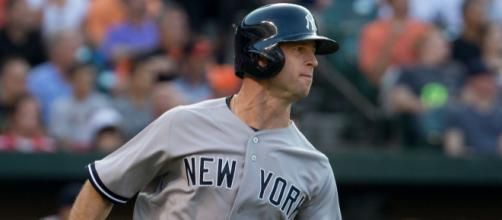 Brett Gardner with a two HR performance, including a game-tying shot in the 9th that helped the Yankees [Image via Keith Allison/Flickr]