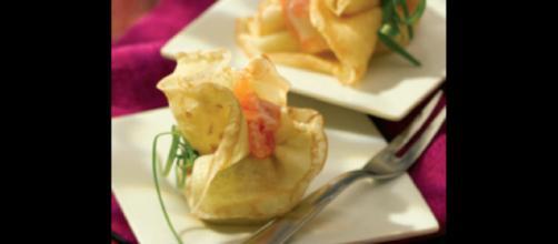 Cucinare con il bimby: crepes al salmone affumicato