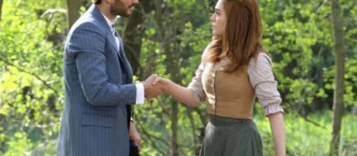 Il Segreto, il pericoloso amore di Saul e Julieta - teleblog.it