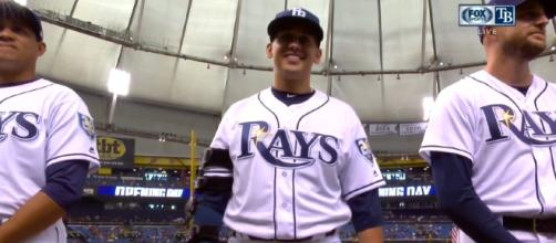 The Rays' rotation has a chance to be special. [image source: FoxSportsFlorida - YouTube]