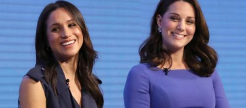 Kate Middleton y Meghan Markle, lejos de ser rivales.