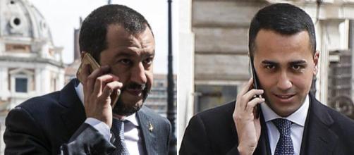 Matteo Salvini e Luigi Di Maio: nuovo governo e falsi neologismi