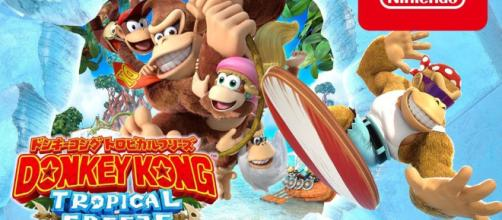 Nintendo Releases Japanese Donkey Kong Country: Tropical Freeze ...