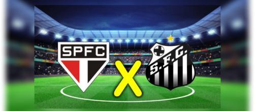São Paulo e Santos jogam hoje pelo Campeonato Brasileiro 2018