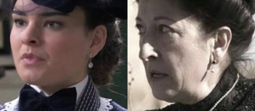 Una Vita, trame Spagna: Leonor smaschera una donna, la minaccia di Ursula