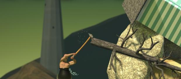 A screenshot of 'Getting Over It with Bennett Foddy.' - [Bennett Foddy / Wikimedia Commons]