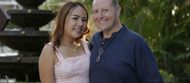 David and Annie of '90 Day Fiance' from screenshot