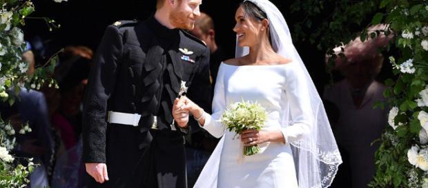 El príncipe Enrique y Meghan Markle ahora son los duques de Sussex
