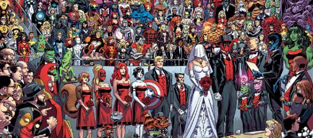 Las mejores bodas del cómic - com.mx