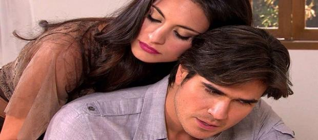 Otávio sugere que ele e Maricruz não voltem a se ver em Coração Indomável (Foto: Televisa)