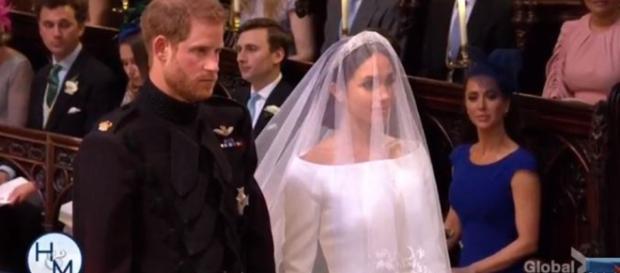 The Royal Wedding - image credit - H&M via Global News | YouTube