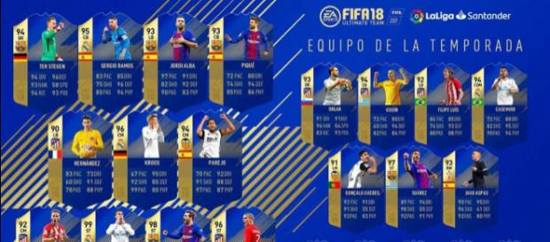 TOTS FIFA 18 laLiga: Con Messi, Cristiano Ronaldo y Griezmann pero ... - mundodeportivo.com
