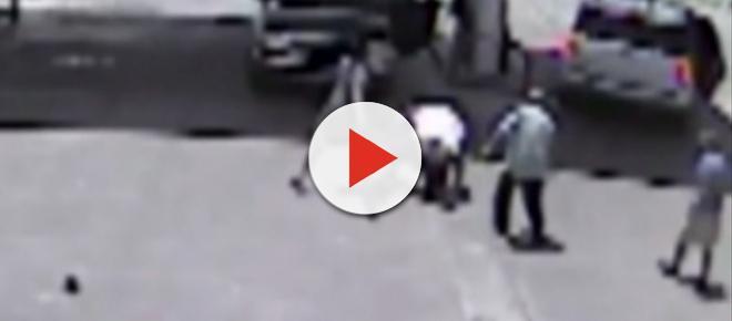 To nie był udany napad - złodzieje trafili na mistrza MMA [wideo]