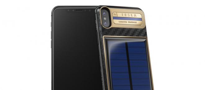 iPhone X Tesla: ecco il primo smartphone ad energia solare