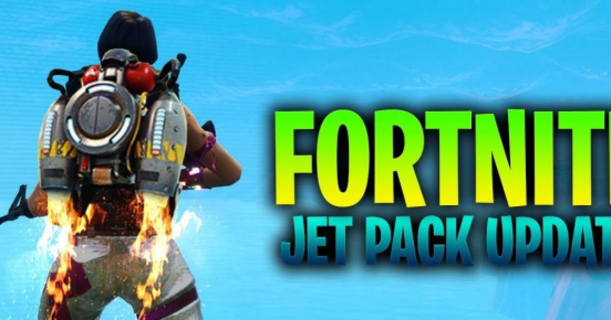 - jetpack fortnite