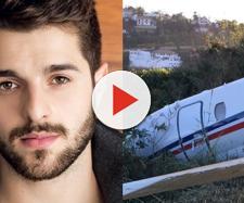 Dj Alok sofre acidente de avião. (foto reprodução).