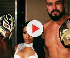 Rey Mysterio Zelina Vega Andrade Cien Almas | WWE NXT Champion ... - pinterest.com