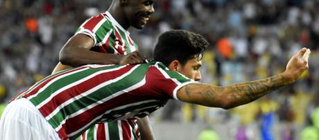 Pedro é o artilheiro do Fluminense em 2018 (Foto: Globo.com)