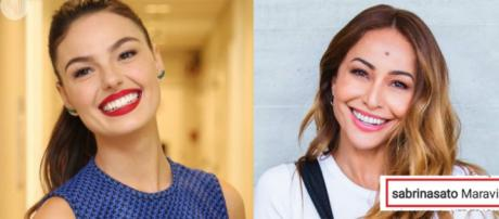 Sabrina Sato e Isis Valverde se curtem no Instagram