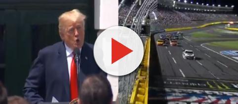 Donald Trump, NASCAR, via Twitter