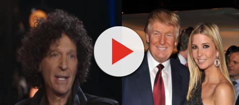 Howard Stern, Donald and Ivanka Trump, via Twitter
