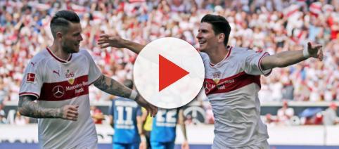 VfB Stuttgart: Wie Daniel Ginczek hinter Mario Gomez ackert ... - kicker.de