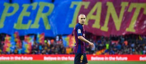 Andres Iniesta terminou a passagem pelo Barcelona