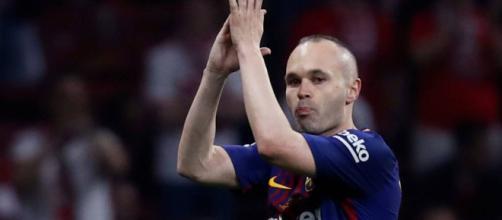 Barcelona: Andrés Iniesta le dice adiós al club de sus amores ... - foxdeportes.com