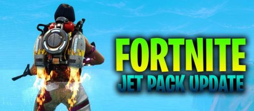"""Jetpacks are coming to """"Fortnite Battle Royale"""" soon."""