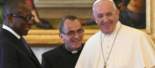 Le président du Bénin Patrice Talon a été reçu au Vatican par le Saint-Père vendredi 18 mai. (ANSA)