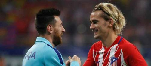 Leo Messi e Griezmann vão jogar do mesmo lado