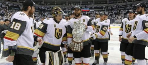 Los Vegas Golden Knights están a cuatro victorias de ganar la Stanley Cup. NHL.com.